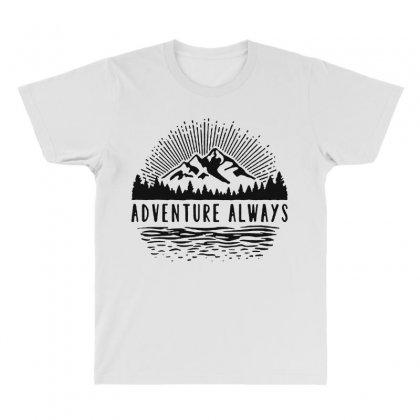 Adventure Always All Over Men's T-shirt Designed By Pinkanzee