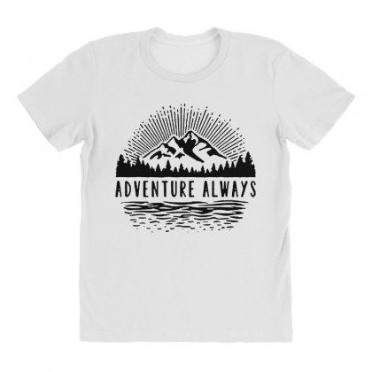 Adventure Always All Over Women's T-shirt Designed By Pinkanzee