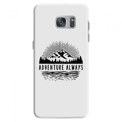 Adventure Always Samsung Galaxy S7 Case Designed By Pinkanzee