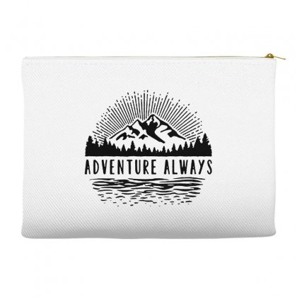Adventure Always Accessory Pouches Designed By Pinkanzee