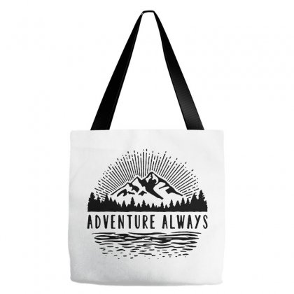 Adventure Always Tote Bags Designed By Pinkanzee