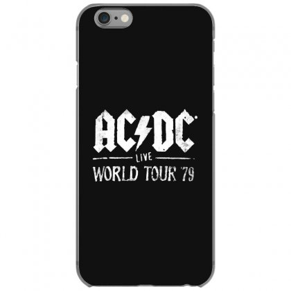 Acdc Live World Tour 79 Iphone 6/6s Case Designed By Pinkanzee