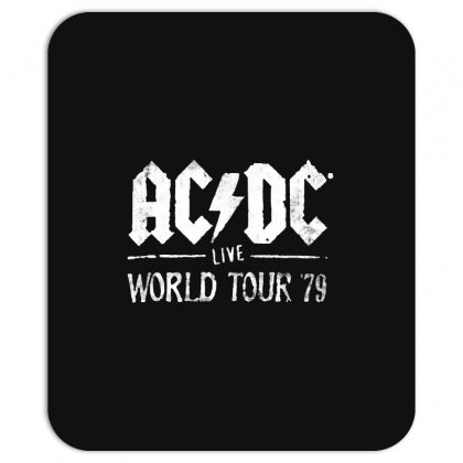 Acdc Live World Tour 79 Mousepad Designed By Pinkanzee