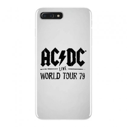 Acdc Live World Tour 79 In Black Iphone 7 Plus Case Designed By Pinkanzee