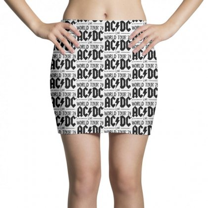 Acdc Live World Tour 79 In Black Mini Skirts Designed By Pinkanzee