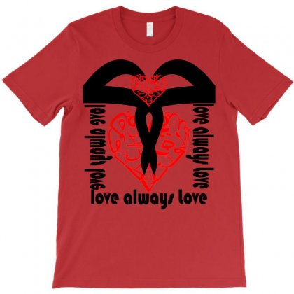 M Amour T-shirt Designed By Nowlam