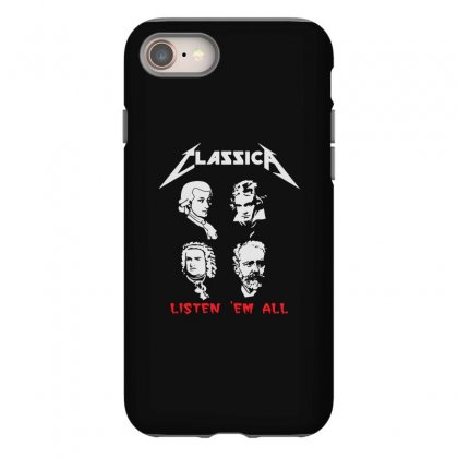 Classical Music Artists Rock Funny Iphone 8 Case Designed By Teeshop