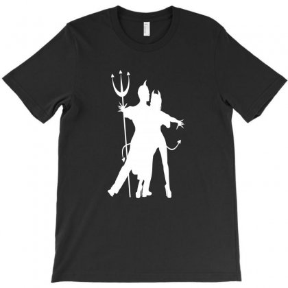 Dance With The Devil T-shirt Designed By Coolmarcell
