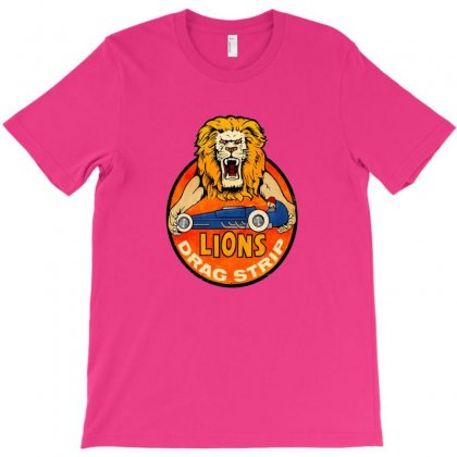 Lions Drag Strip T-shirt Designed By Coolmarcell
