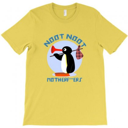 Noot Noot Pingu T-shirt Designed By Coolmarcell