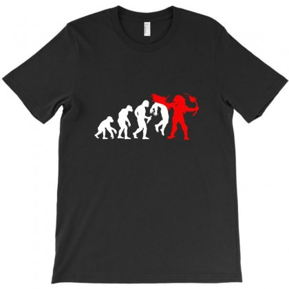 Predator Evolution Sci Fi Funny T-shirt Designed By Teeshop