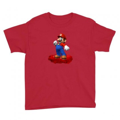 Mario Youth Tee Designed By Edvin