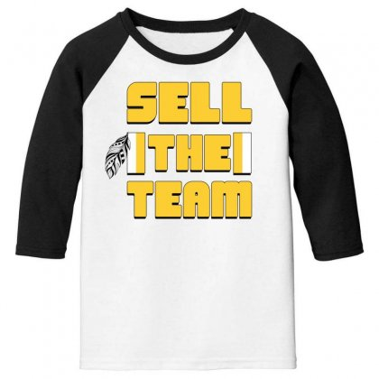 Sell The Team Youth 3/4 Sleeve Designed By Sengul