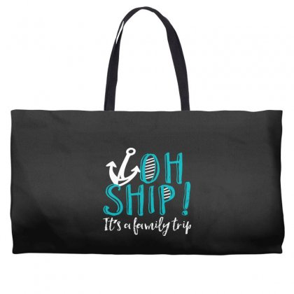 Oh Ship Anchor Weekender Totes Designed By Perfect Designers