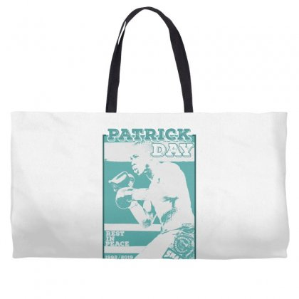 Rip The Best Boxer Patrick Day Weekender Totes Designed By Gurkan