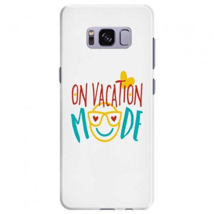 On Vacation Mode Samsung Galaxy S8 Plus Case Designed By Perfect Designers