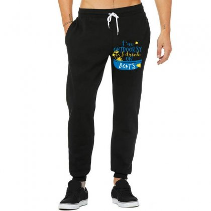 Outdoosy Drink On Boats Unisex Jogger Designed By Perfect Designers