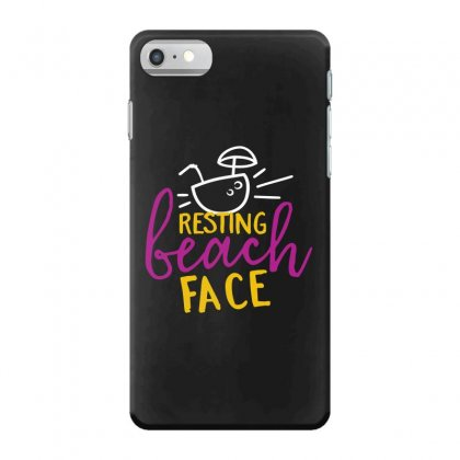 Resting Beach Face Iphone 7 Case Designed By Perfect Designers