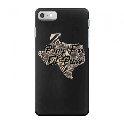 Support El Paso White Text For Dark Iphone 7 Case Designed By Gurkan