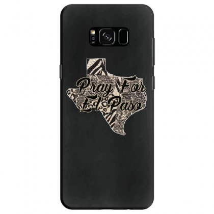 Support El Paso White Text For Dark Samsung Galaxy S8 Case Designed By Gurkan