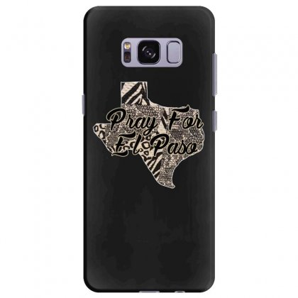 Support El Paso White Text For Dark Samsung Galaxy S8 Plus Case Designed By Gurkan
