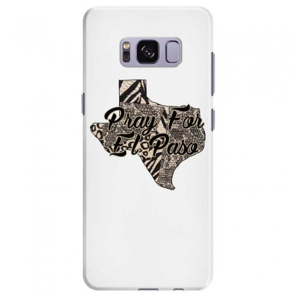 Support El Paso White Text For Light Samsung Galaxy S8 Plus Case Designed By Gurkan