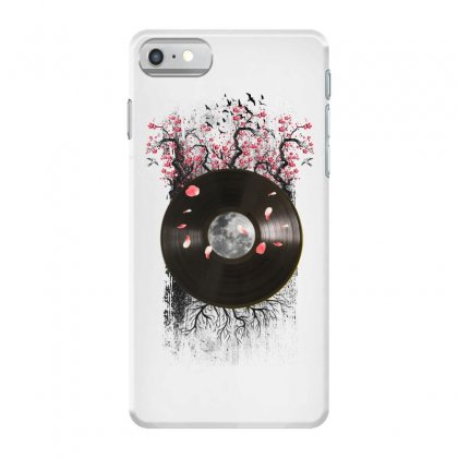 Cherry Bloom Record Iphone 7 Case Designed By Sengul
