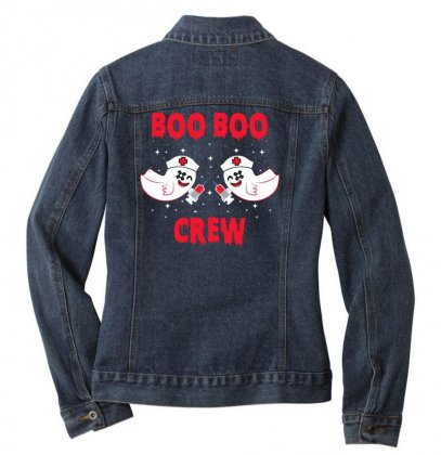 Boo Boo Crew Ladies Denim Jacket Designed By Sengul