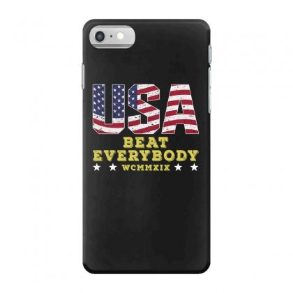 Usa Beat Everybody Iphone 7 Case Designed By Gurkan