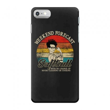 Weekend Forecast Softball Iphone 7 Case Designed By Gurkan