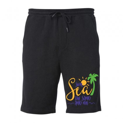 Sun Sea The Sand And Me Fleece Short Designed By Perfect Designers