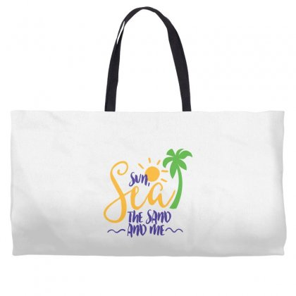 Sun Sea The Sand And Me Weekender Totes Designed By Perfect Designers
