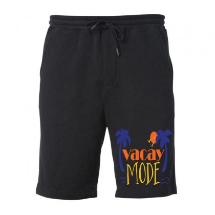 Vacay Mode Fleece Short Designed By Perfect Designers