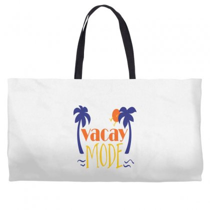 Vacay Mode Weekender Totes Designed By Perfect Designers