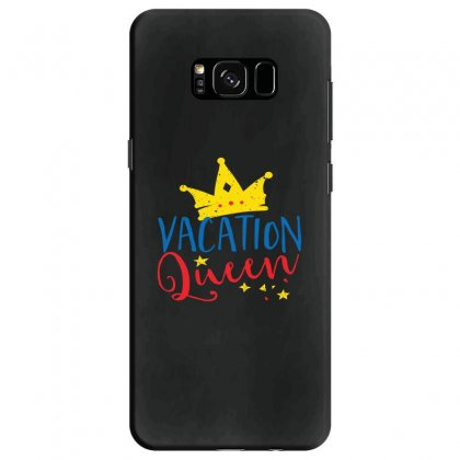 Vacation Queen Samsung Galaxy S8 Case Designed By Perfect Designers