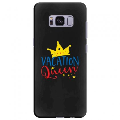 Vacation Queen Samsung Galaxy S8 Plus Case Designed By Perfect Designers