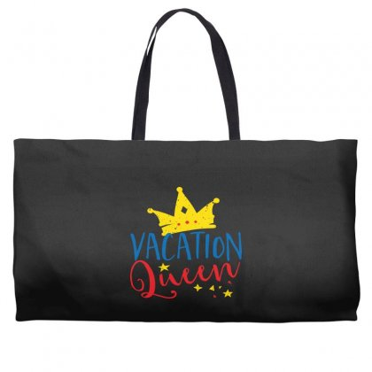 Vacation Queen Weekender Totes Designed By Perfect Designers