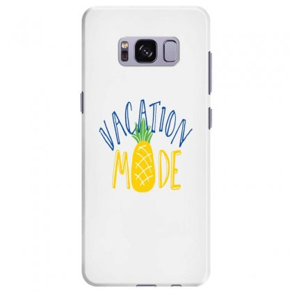 Vacation Mode Pineapple Samsung Galaxy S8 Plus Case Designed By Perfect Designers