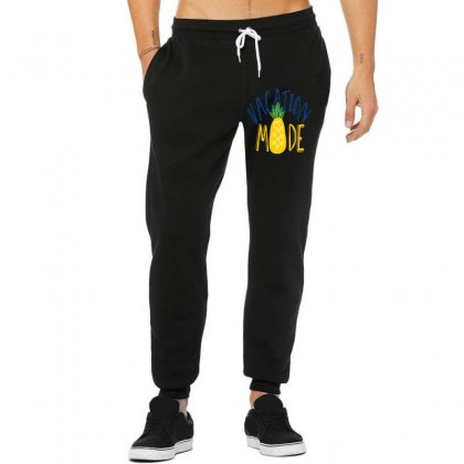 Vacation Mode Pineapple Unisex Jogger Designed By Perfect Designers