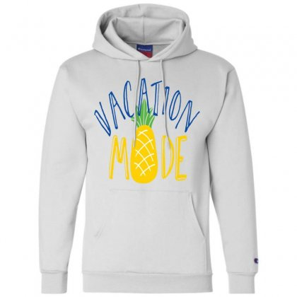 Vacation Mode Pineapple Champion Hoodie Designed By Perfect Designers