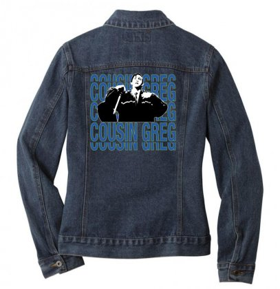 Cousin Greg Ladies Denim Jacket Designed By Sengul