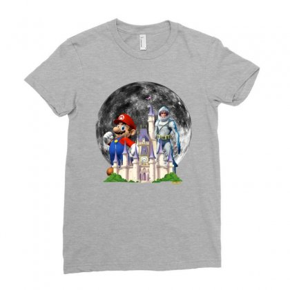 Super Hero Ladies Fitted T-shirt Designed By Edvin