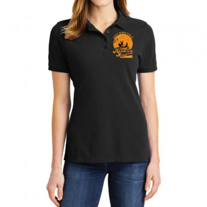 Can't Work Today Fishing T Shirt Ladies Polo Shirt Designed By Asayem