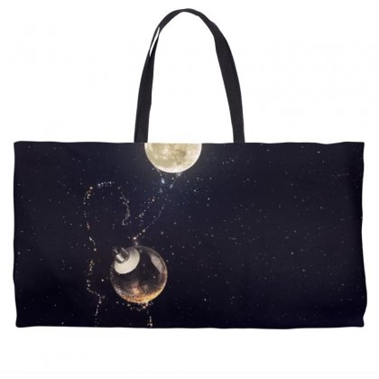 Dreamy Girl Weekender Totes Designed By Arial