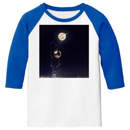 Dreamy Girl Youth 3/4 Sleeve Designed By Arial