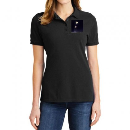 Dreamy Girl Ladies Polo Shirt Designed By Arial