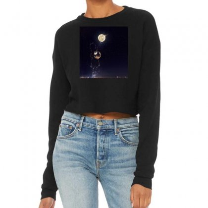 Dreamy Girl Cropped Sweater Designed By Arial