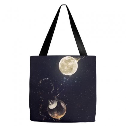 Dreamy Girl Tote Bags Designed By Arial