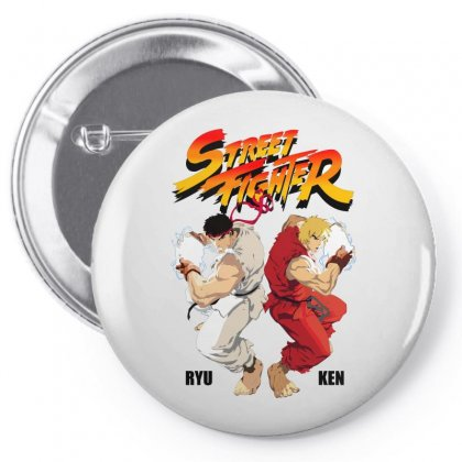 Street Fighter Pin-back Button Designed By Estore