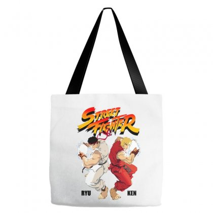 Street Fighter Tote Bags Designed By Estore